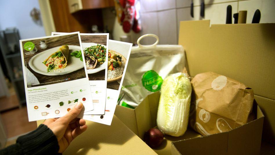 Erfolgreich verpackt: Kochboxen von HelloFresh sind in der Corona-Krise gefragt