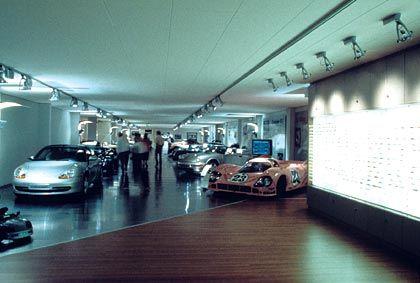 Porsche stellt sich aus: Das alte Porsche-Museum