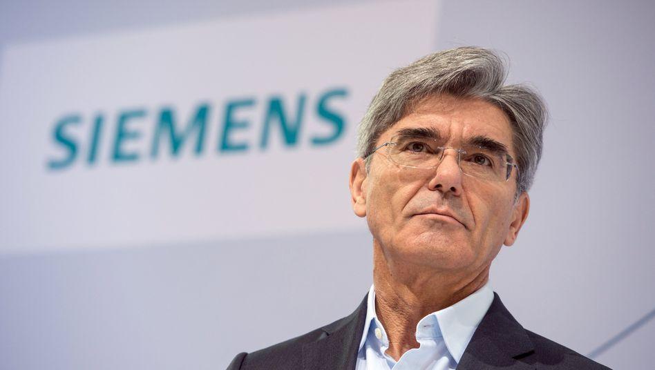 Siemens-Chef Joe Kaeser: Rennen gegen US-Konkurrent General Electric