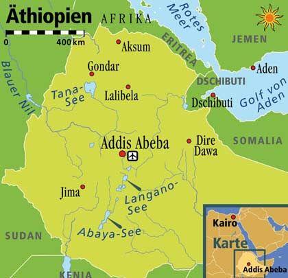 Seit vielen Jahrhunderten durch das Christentum geprägt: Äthiopien unterscheidet sich noch heute in vielem von den umliegenden Ländern