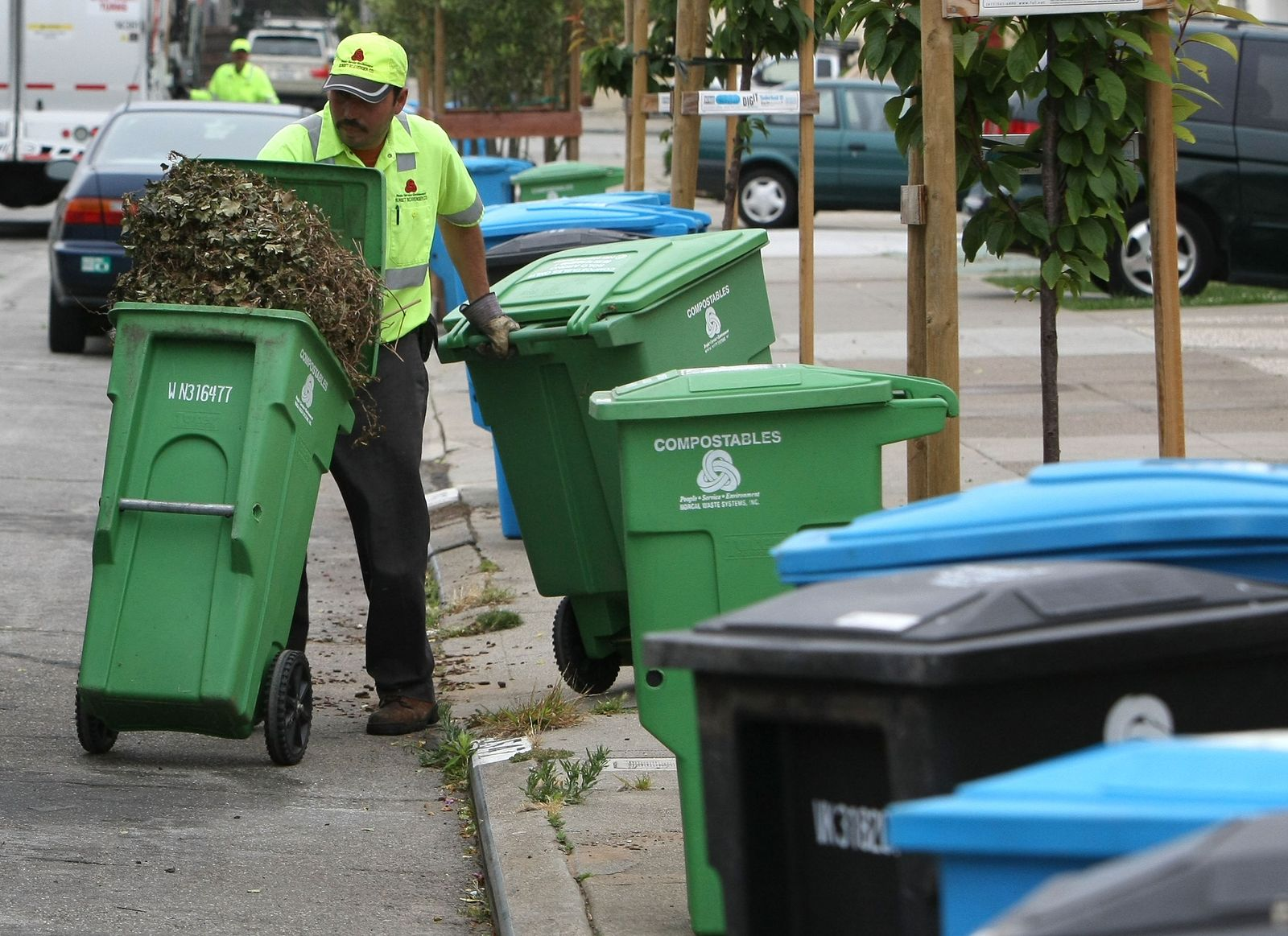 Müllabfuhr / USA