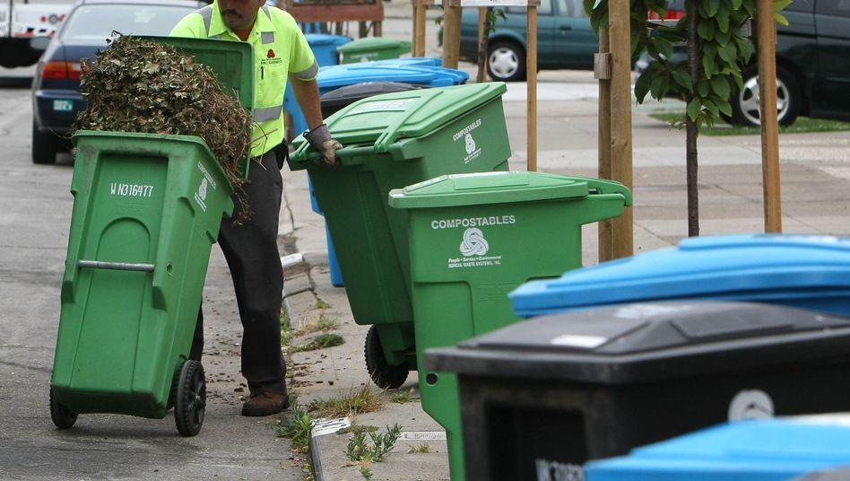 Müllabfuhr in San Francisco