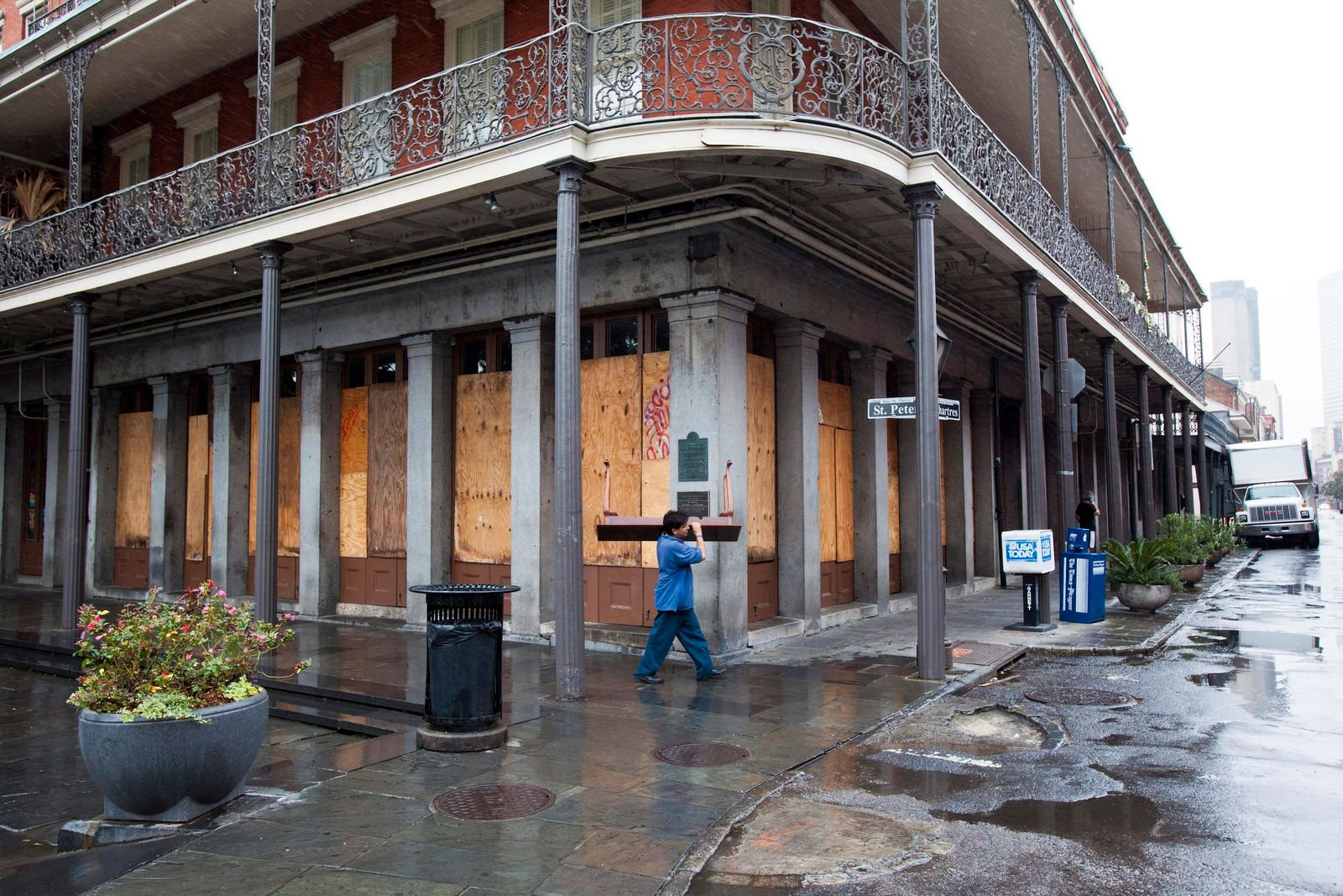 Tropical Storm Isaac Threatens New Orleans