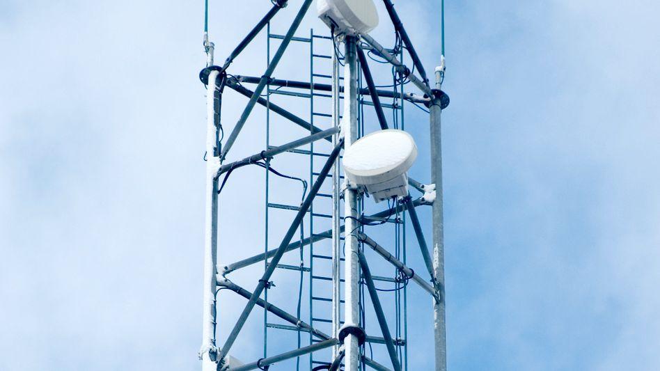 Mobilfunkturm: Milliardendeal für die Deutsche Telekom
