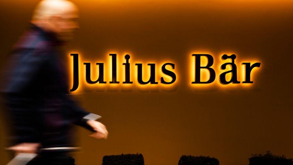 """Die Schweizer Finanzmarktaufsicht Finma sieht bei Julius Bär """"systematische Mängel"""" bei den Vorkehrungen gegen Geldwäsche"""