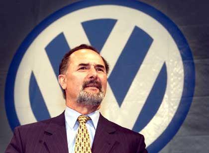 Zuversichtlich: VW-Chef Bernd Pischetsrieder