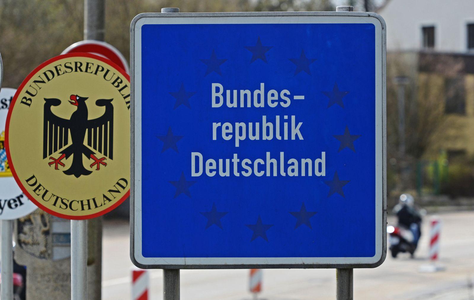 EU Freizügigkeit Grenze Grenzübergang Tschechien