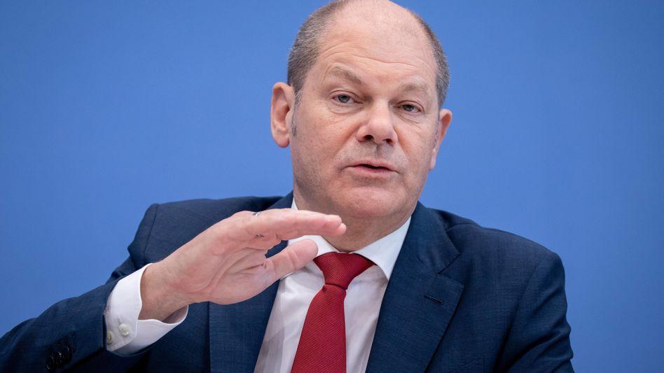 Olaf Scholz: Schon im Wahlprogramm wollte die SPD das Rentenniveau von 48 Prozent bis 2030 garantieren