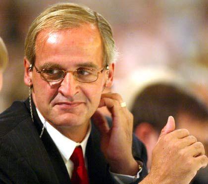 Schwieriges Investment: Großaktionär Florian Homm auf einer Hauptversammlung von Borussia Dortmund