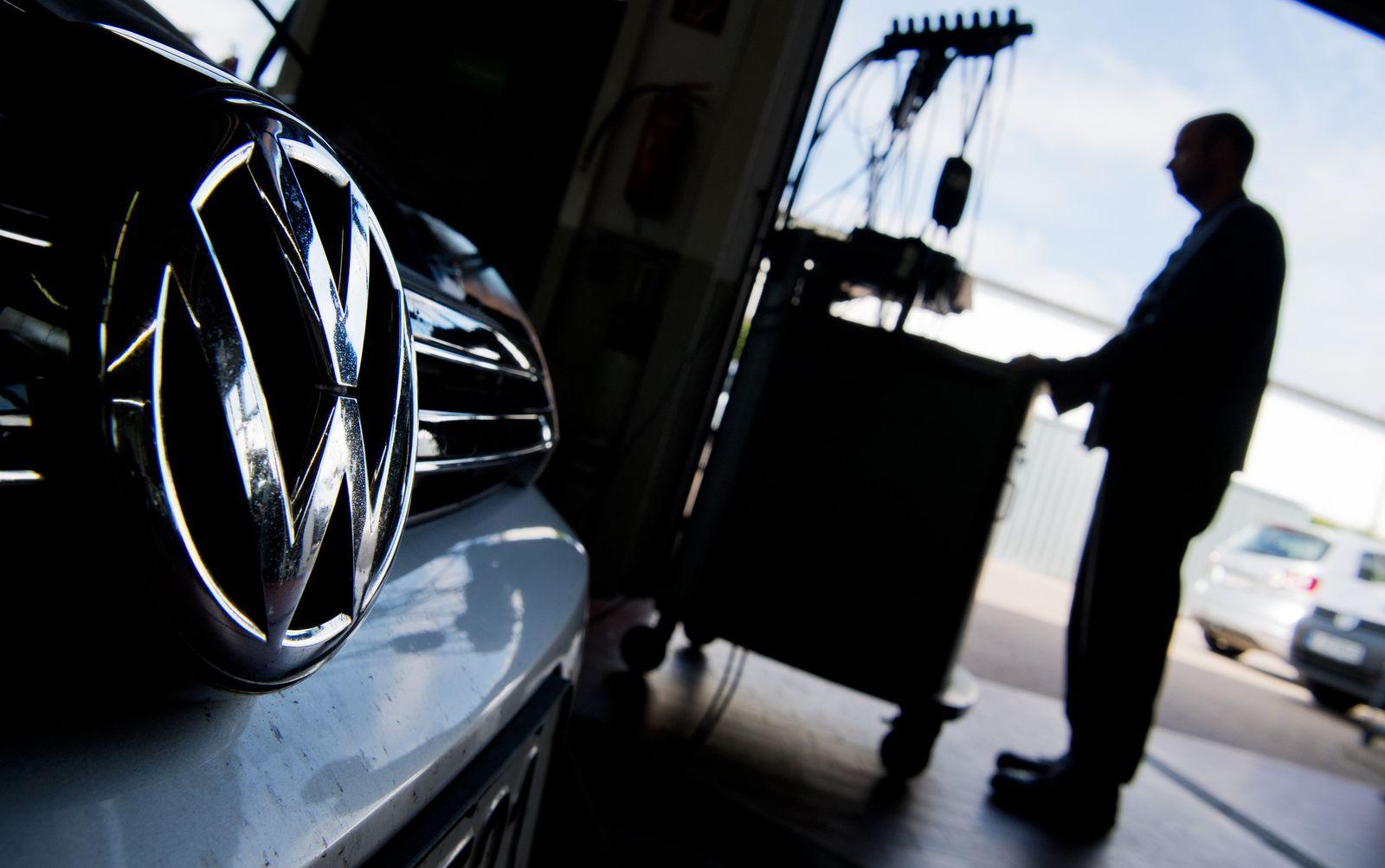 VW/ Abgasskandal/ Volkswagen - Software-Update