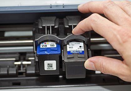Günstige Drucker, teure Patronen: Über die Tinte verdienen die Hersteller ihr Geld