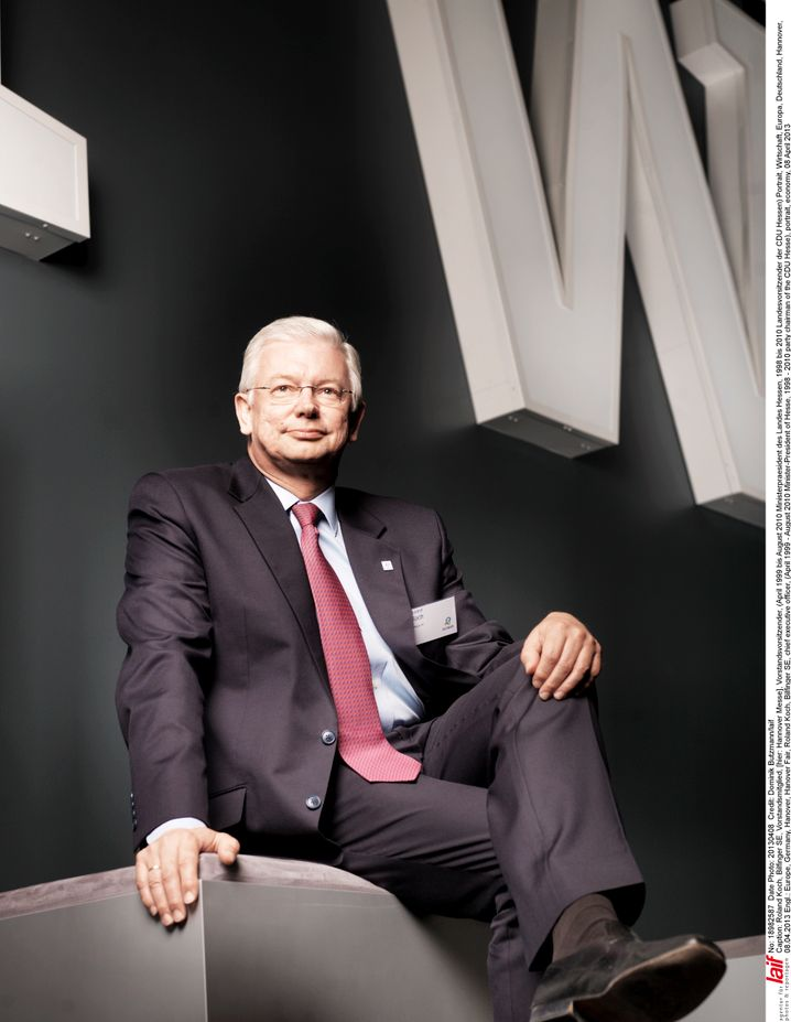 Roland Koch: Ex-Ministerpräsident Hessens und Ex-Chef des Industriedienstleisters Bilfinger