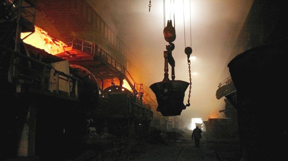 Produktion bei BASF-Partner Norilsk Nickel