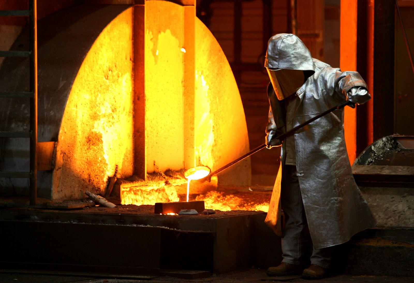 ThyssenKrupp Stahl / Produktion