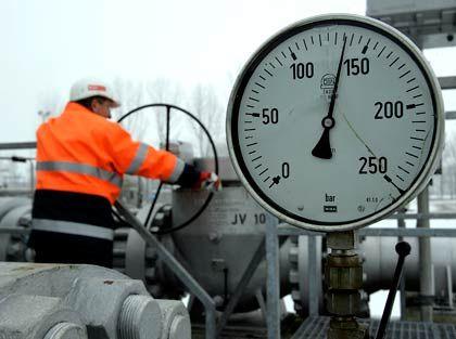 Nicht mehr so gefragt: Russland exportiert wegen der Wirtschaftskrise weniger Gas