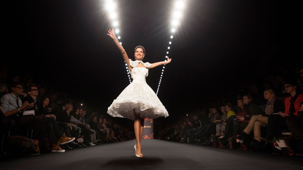 Fashion Week Berlin: Glamour und Grobstrick