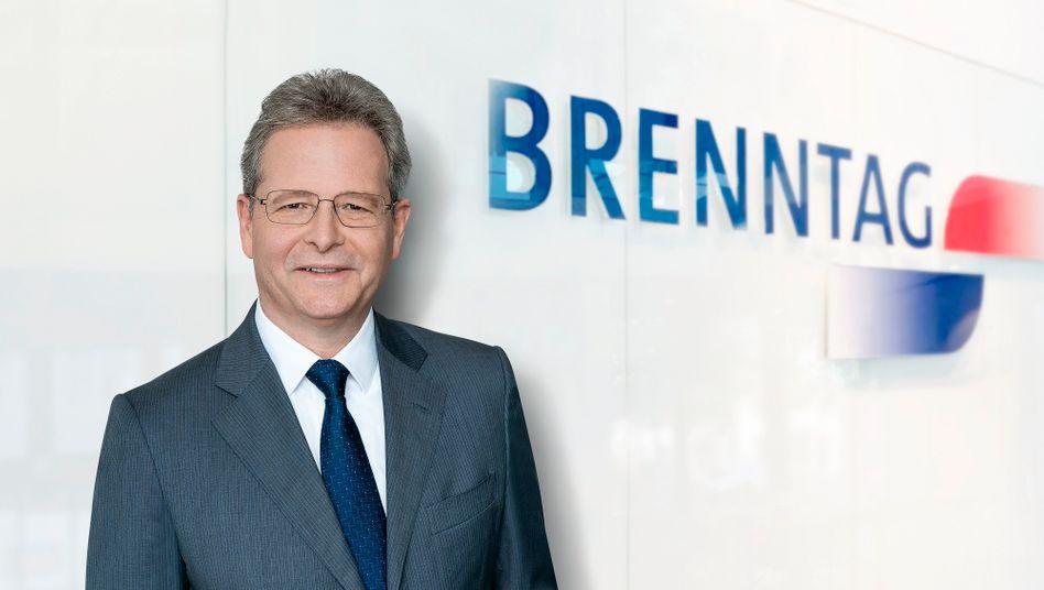 Christian Kohlpaintner wird neuer Vorstandsvorsitzender von Brenntag