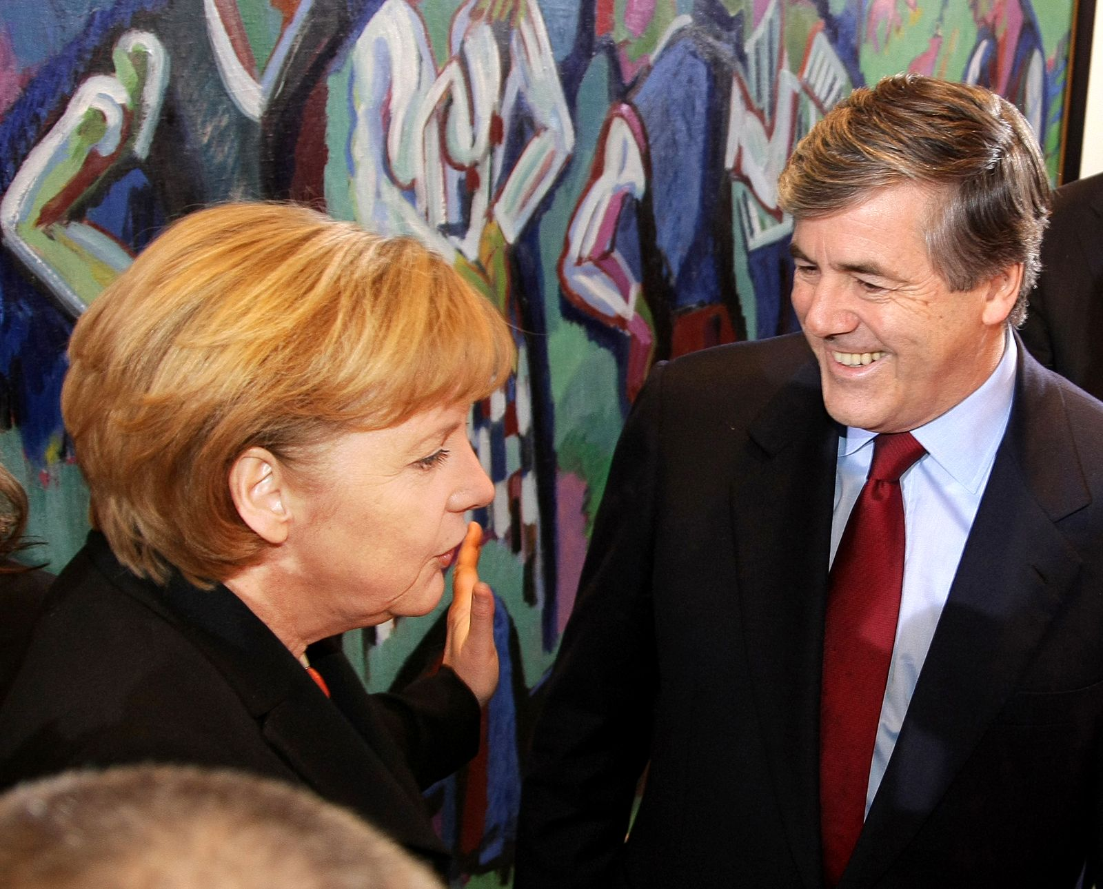 Deutsche Bank Geschichte/ Merkel/ Ackermann