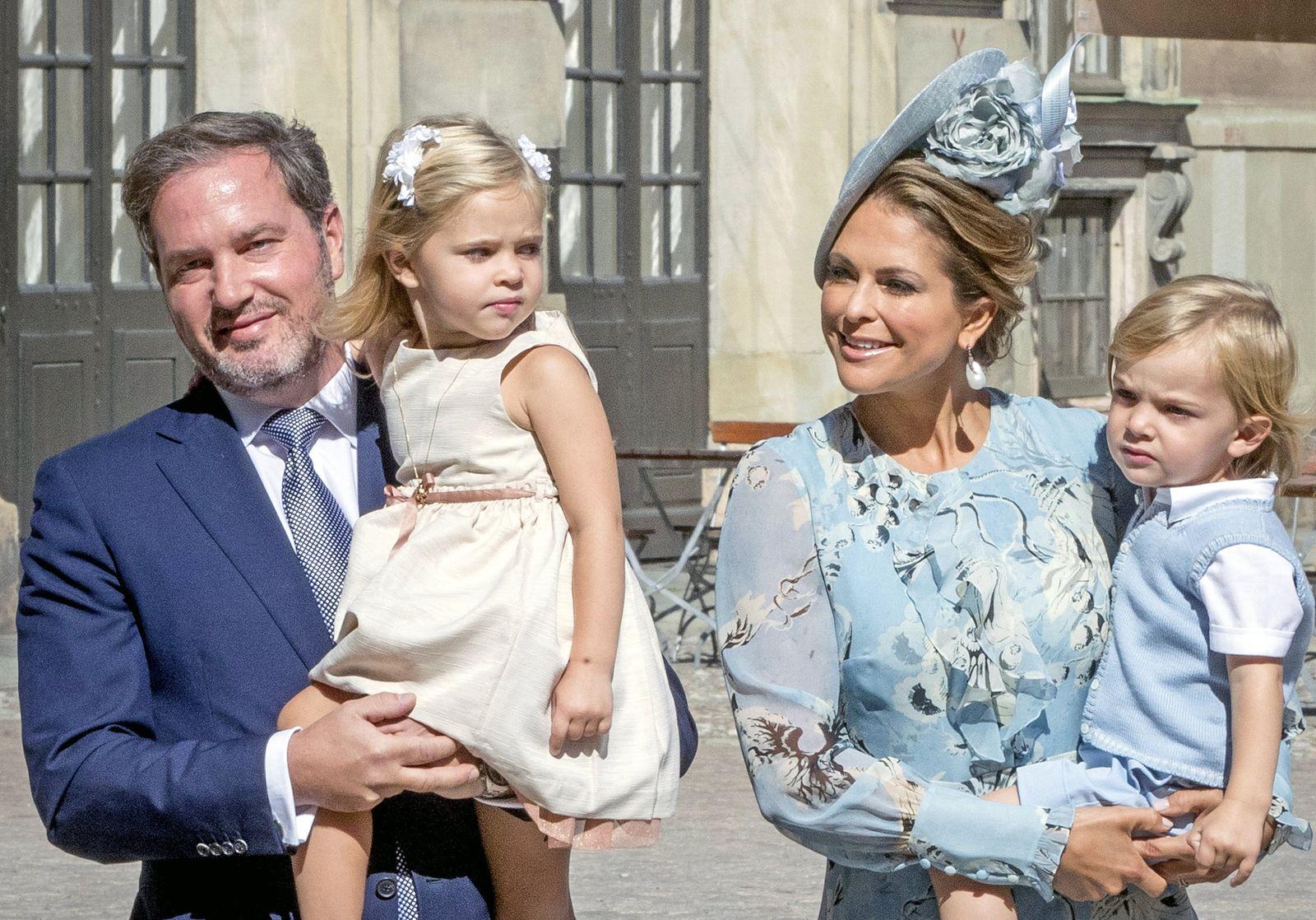 Prinzessin Madeleine und Familie