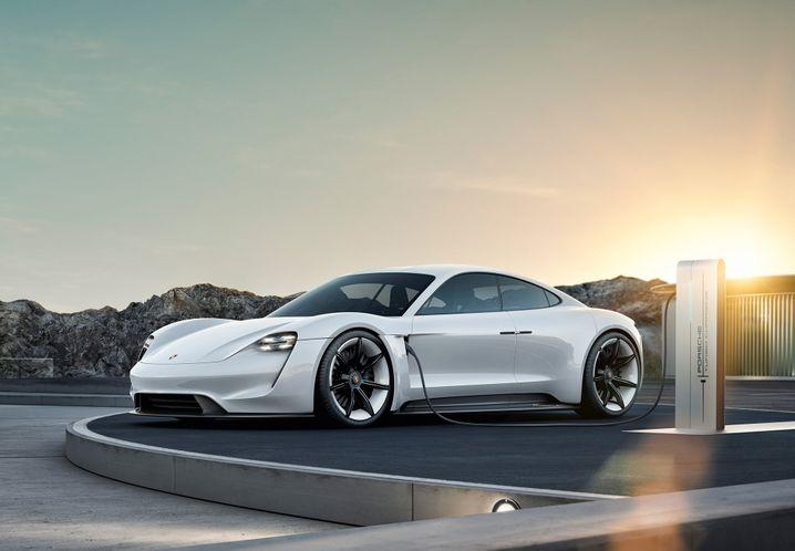 Elektro-Porsche Taycan: Mit diesem Modell will Porsche Tesla jagen