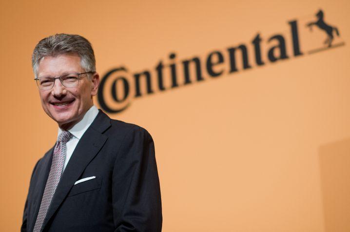 """Konzernchef Elmar Degenhart: """"Unsicherheit (...) wächst zusehends"""""""
