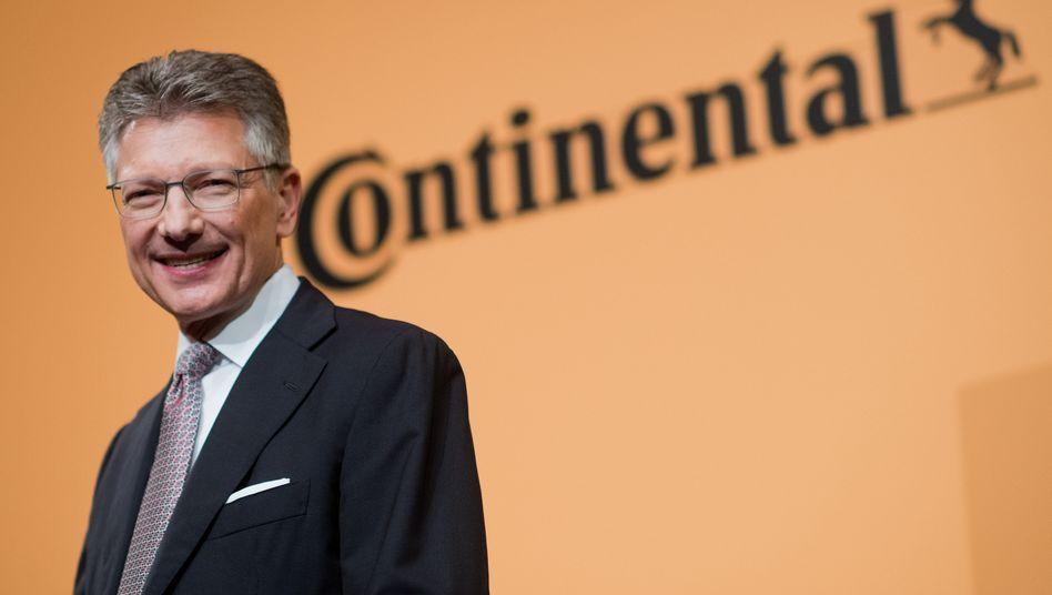 Conti-Chef Elmar Degenhart: In der aktuellen Krise sind Topmanager gefragt