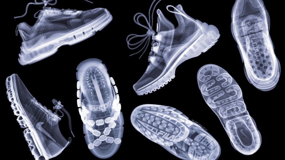 Durchblick: Edelsneaker unter dem Röntgenstrahl