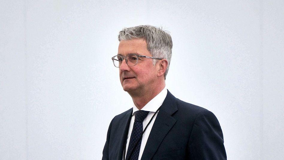 Rupert Stadler kommt aus Untersuchungshaft frei