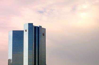Gerichtsnotorisch: Deutsche Bank, hier die Zentrale in Frankfurt am Main