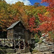 """Leuchtend bunte Natur: Die """"Fall Foliage"""" in West Virginia"""