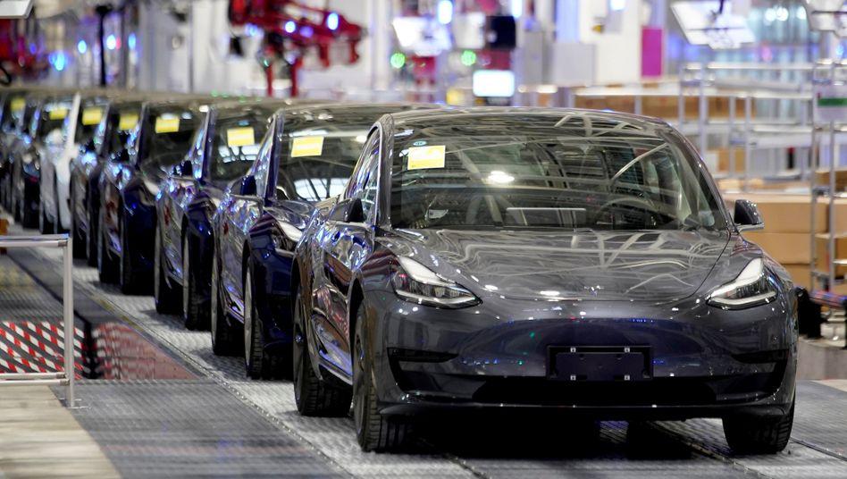 Tesla Werk in Shanghai: Elon Musk hält Rekordauslieferungen im dritten Quartal für möglich - es könnten bis zu 140.000 Fahrzeug-Auslieferungen werden