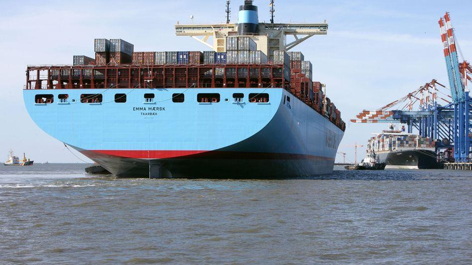 """Containerriese """"Emma Mærsk"""": Die Frachtraten steigen wieder"""