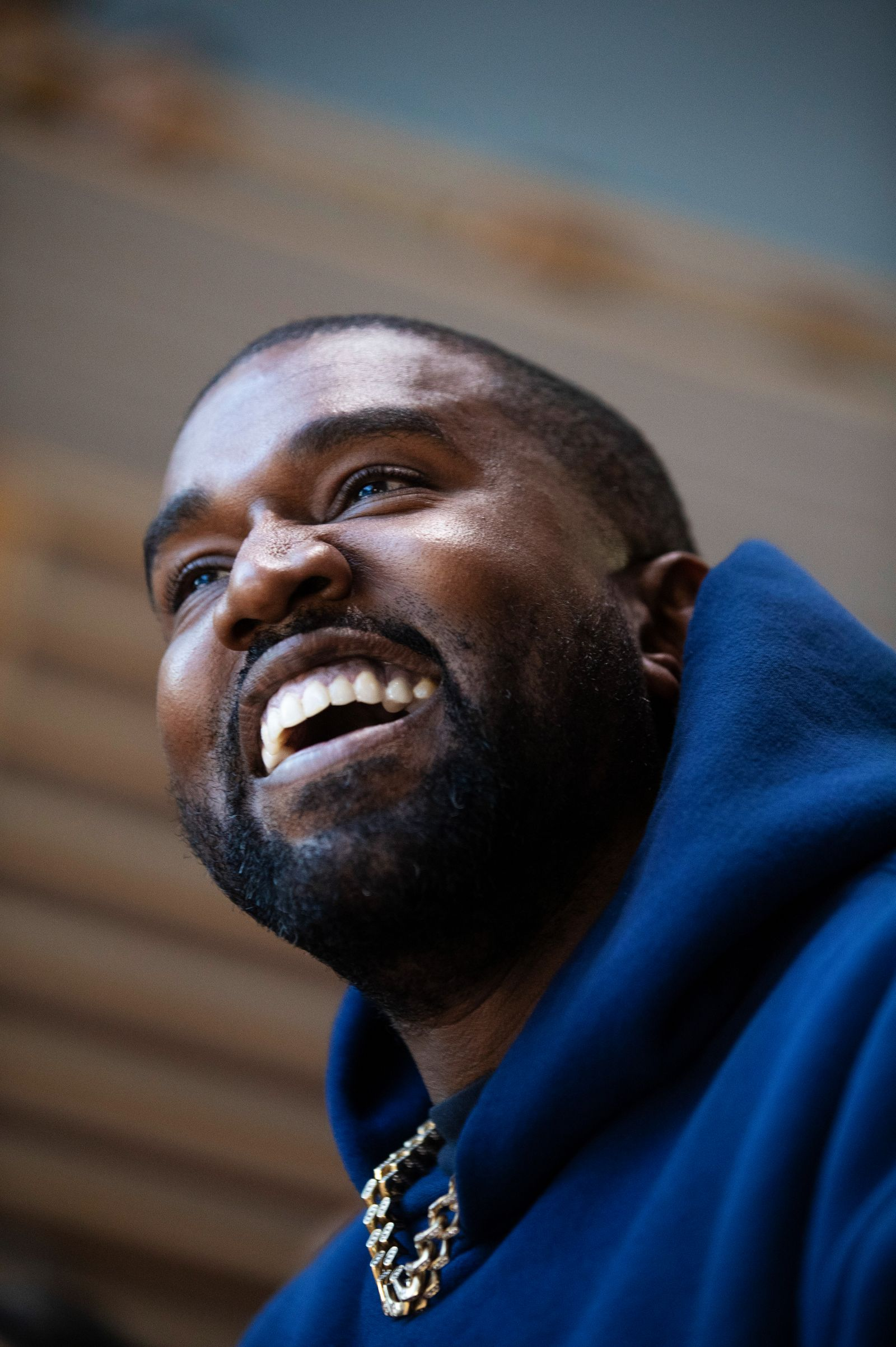 Kanye West at the annual New York Times DealBook conference in New York on Nov. 6, 2019. (Calla Kessler/The New York Times)