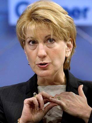 Carly Fiorina, Ex-Vorstandschefin bei HP