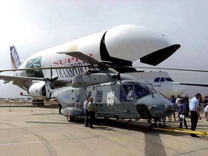 """Nur noch wenige Bestellungen für das älteste Modell: Airbus A 300 """"Beluga"""""""