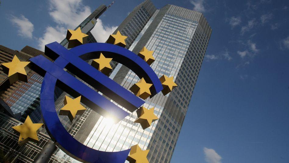 Eine sichere Bank: Statt untereinander leihen die Banken ihr Geld lieber der EZB