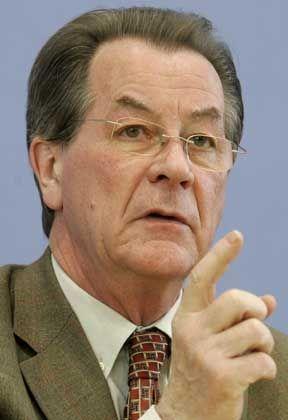 Verärgert die Telekom:Arbeitsminister Müntefering