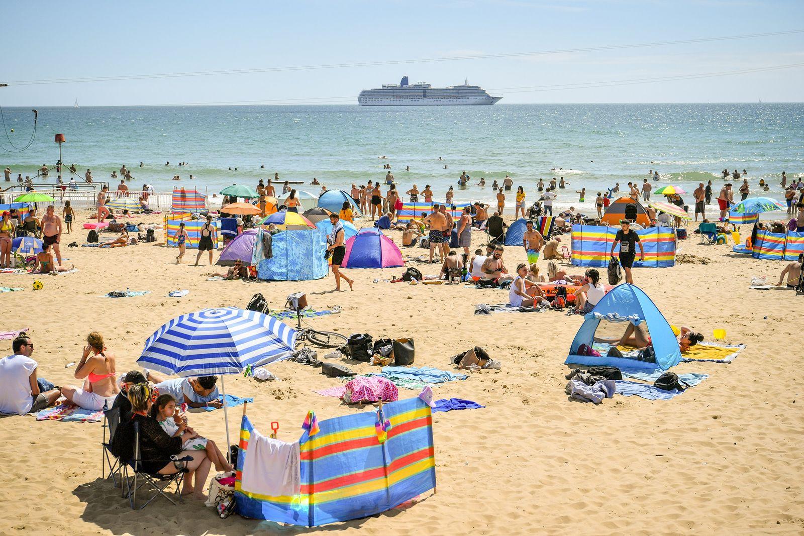 Sommerwetter in Großbritannien