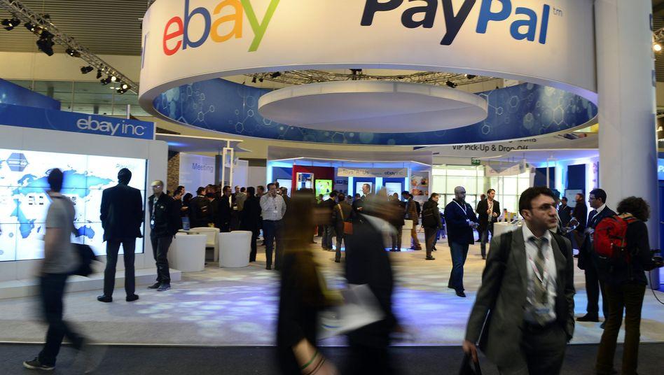 Gehen künftig getrennte Wege: Ebay und der Bezahldienst Paypal