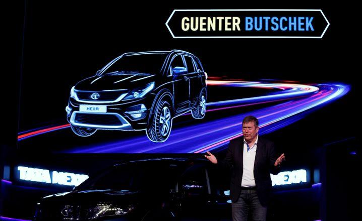 Auftritt von Tata-Motors-Chef Günter Butschek in Mumbai