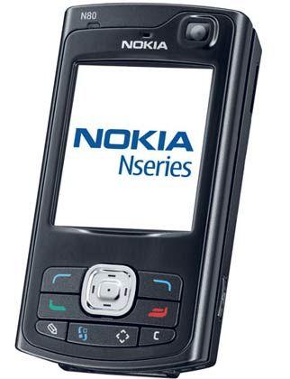 Verteidigt seine Position als Marktführer: Nokia, hier das aktuelle Modell N80