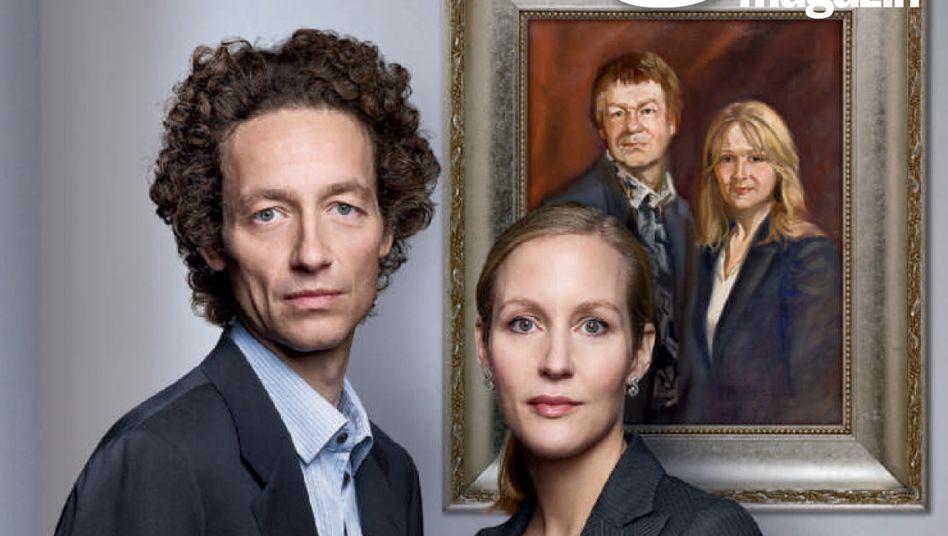 Nachfolger: Meike und Lars Schlecker übernehmen das Handelshaus