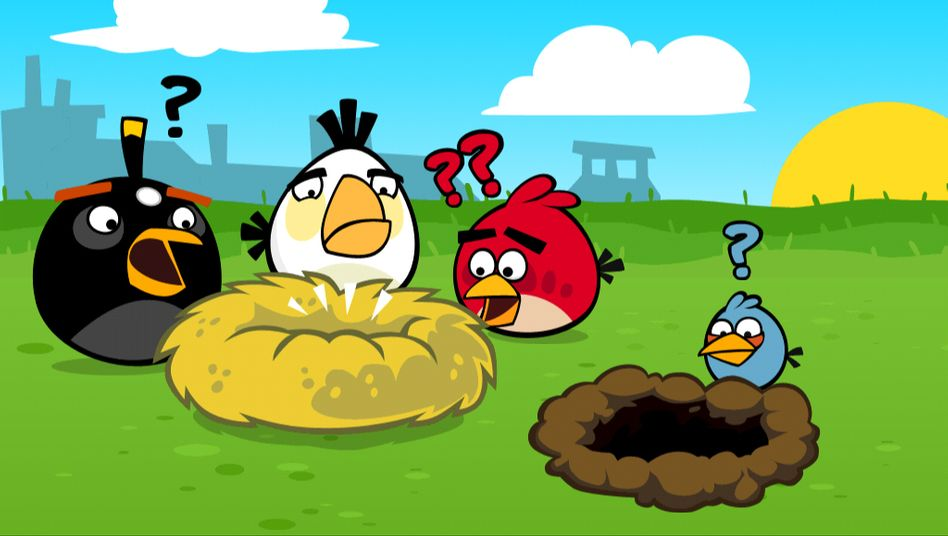 Angry Birds Screenshot: Wo sind die Gamer geblieben?