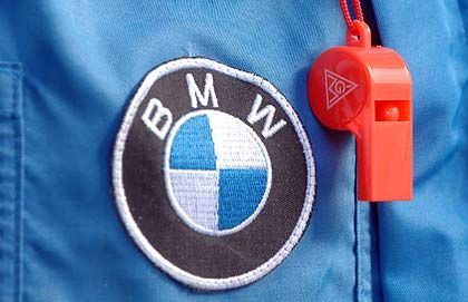 Konfliktbereit: Auch bei BMW standen am Mittwoch Warnstreiks auf der Tagesordnung