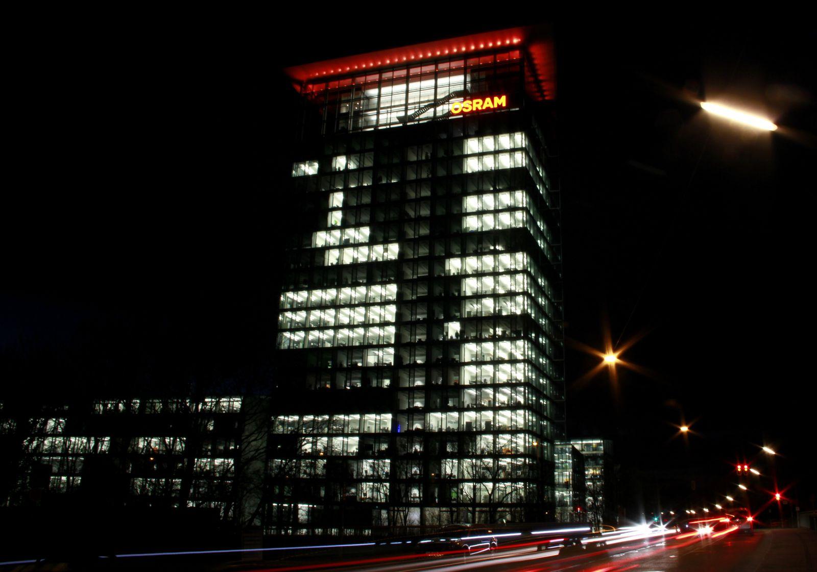 Osram Hauptversammlung / Zentrale