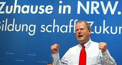 Will kein grünes Licht geben: NRW-Ministerpräsident Peer Steinbrück