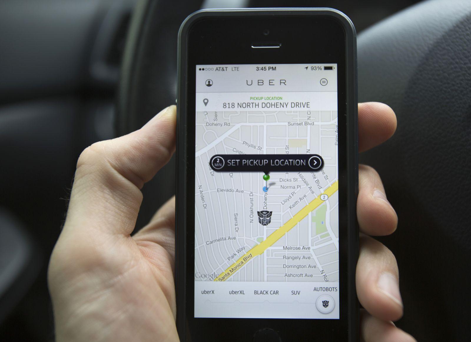 Uber / Screen