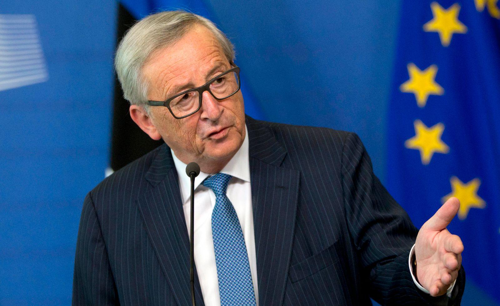 Brexit-Gespräche in Brüssel / Jean-Claude Juncker