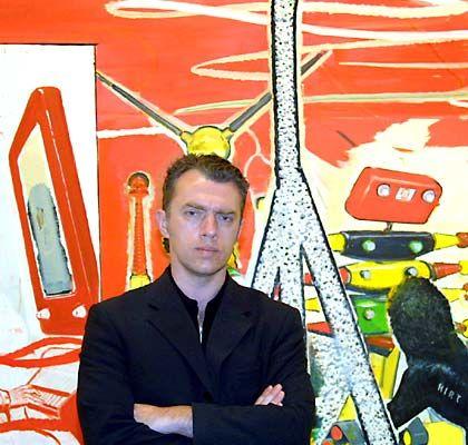 Neo Rauch: Der Künstler aus Leipzig wird auch im Haus des Kanzlers geschätzt