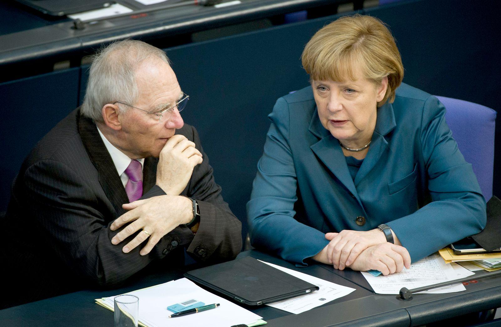 Schäuble / Merkel